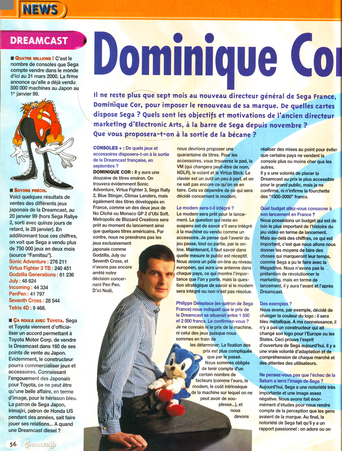 Interview de Dominique Cor, page 1