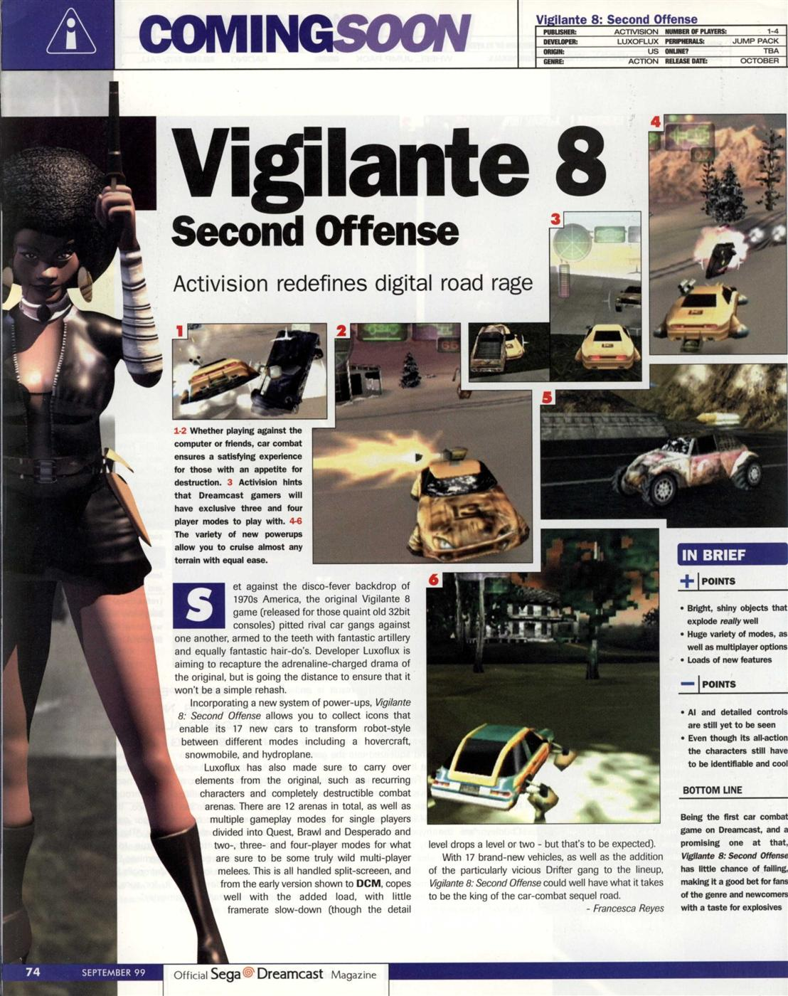 Vigilante 8: 2nd Offence
