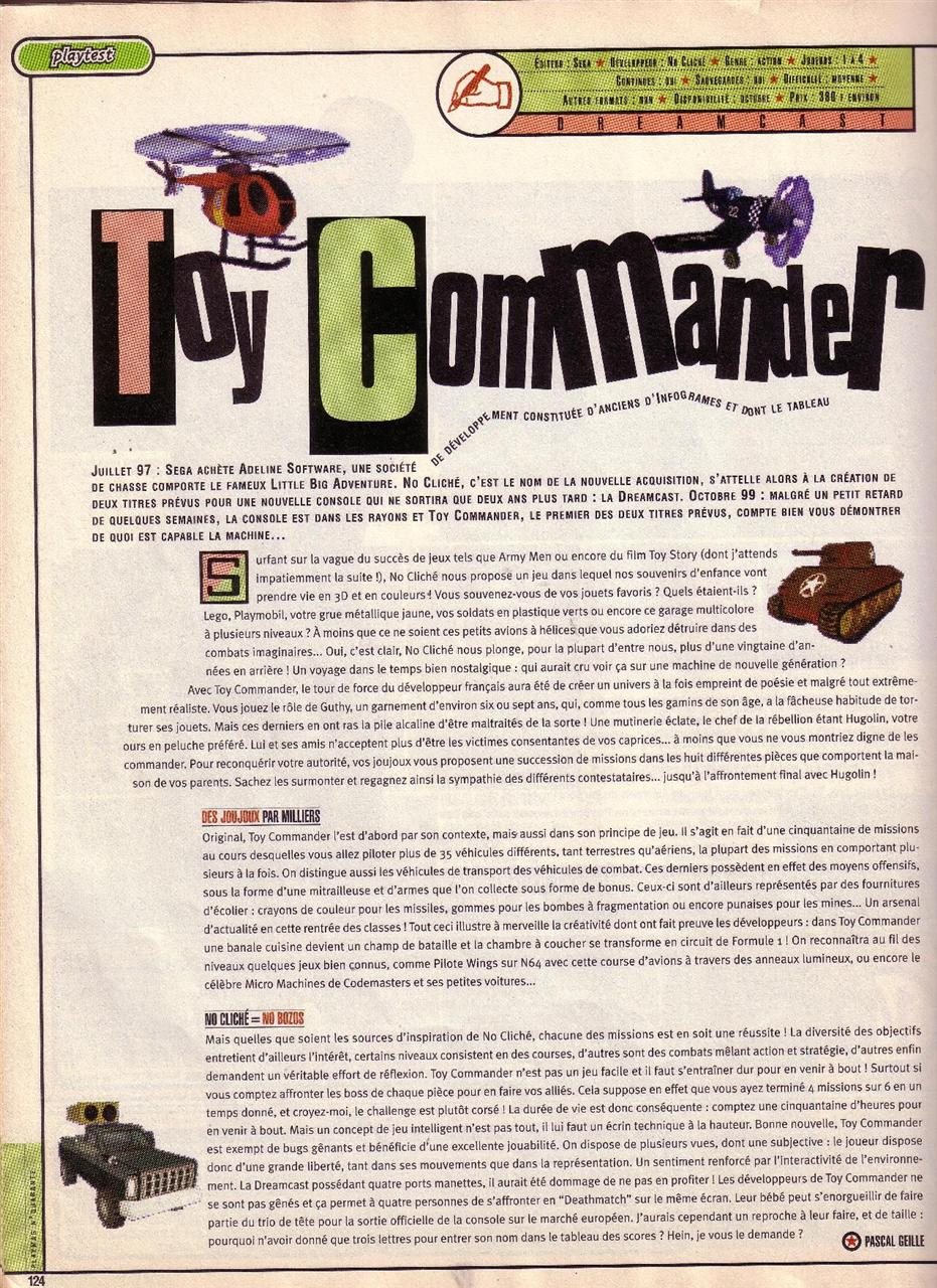 Toy Commander (PM#40) - p1