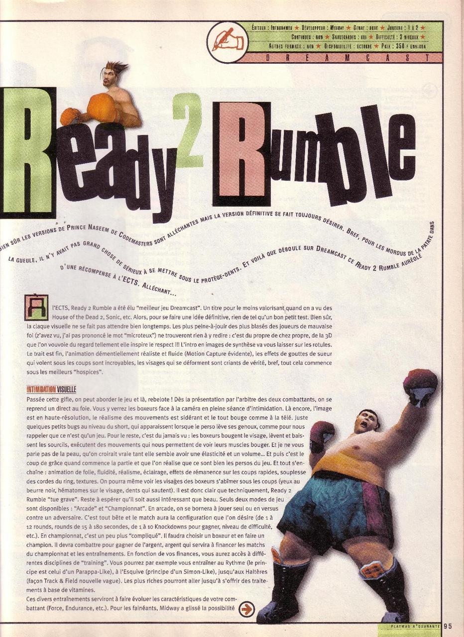 Ready 2 Rumble (PM#40) - p1