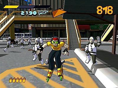 Screenshot Jet Set Radio2