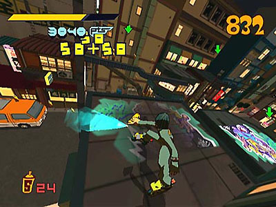 Screenshot Jet Set Radio3