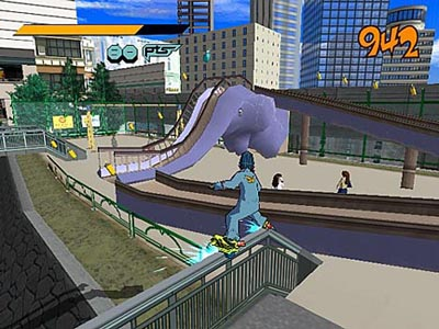 Screenshot Jet Set Radio5