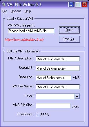 Screenshot VMI Writer 1